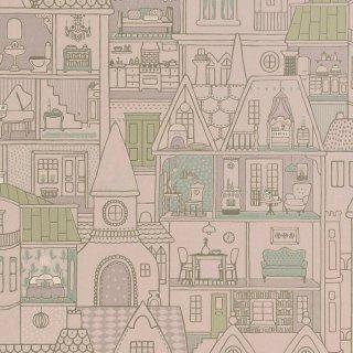 Dollhouse+Stickers セット/ 147-02+801-01 / Poetry / Majvillan