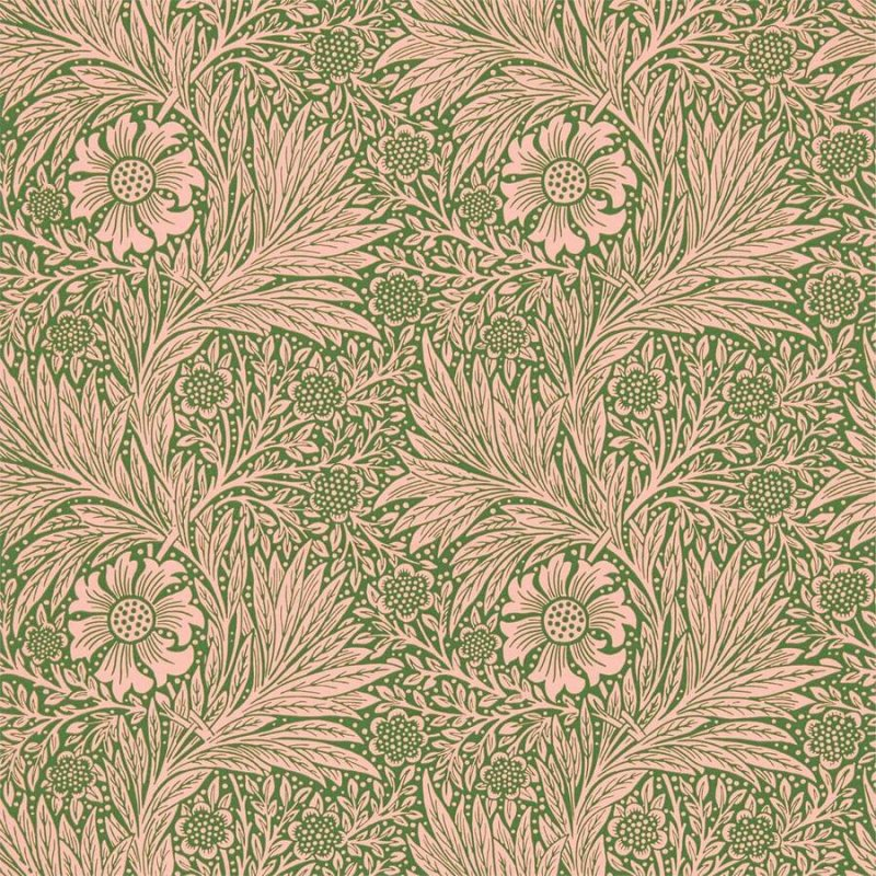 Marigold / 216953 / Queen Square Wallpapers / Morris&Co.