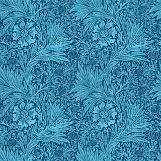 Marigold / 216954 / Queen Square Wallpapers / Morris&Co.