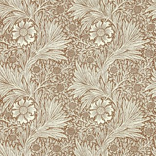 Marigold / 216955 / Queen Square Wallpapers / Morris&Co.