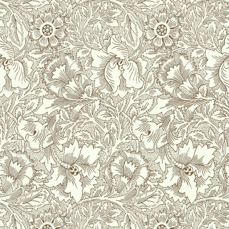 Poppy / 216957 / Queen Square Wallpapers / Morris&Co.