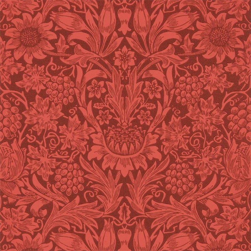 Sunflower / 216960 / Queen Square Wallpapers / Morris&Co.
