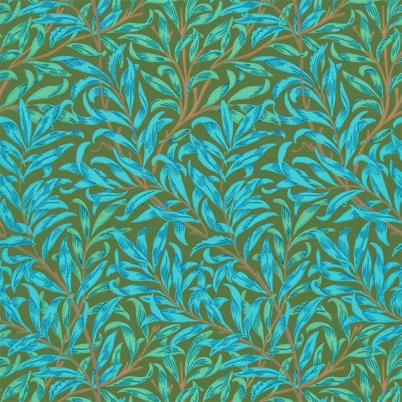 Willow Bough / 216952 / Queen Square Wallpapers / Morris&Co.
