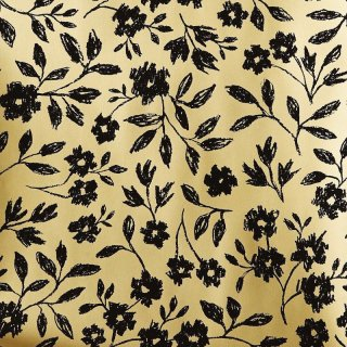Sketch book Floral (gold) / EMC-023 / Hygge & West