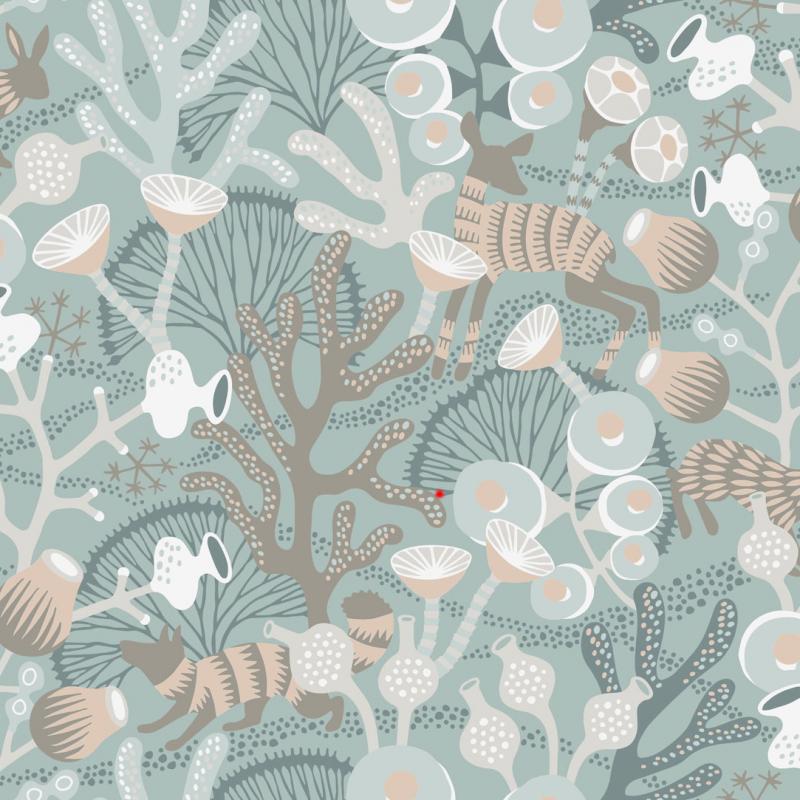 Korallang / 1459 / Wonderland / Borastapeter
