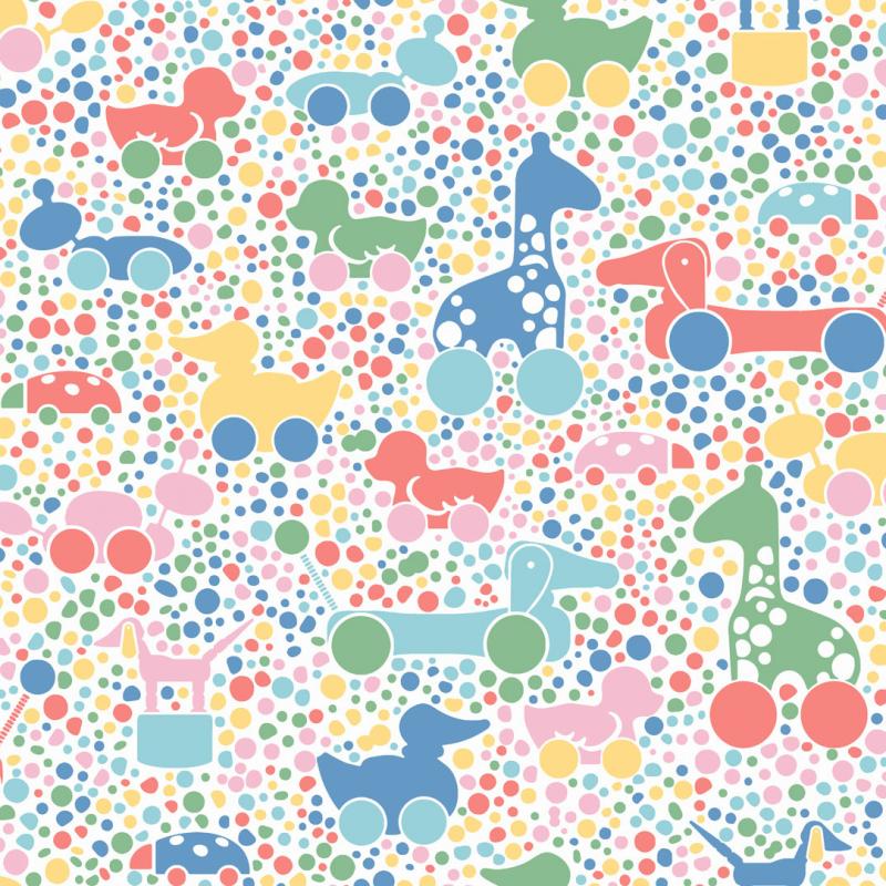 Brio Dots / 6237 / Scandinavian Designers Mini / Borastapeter