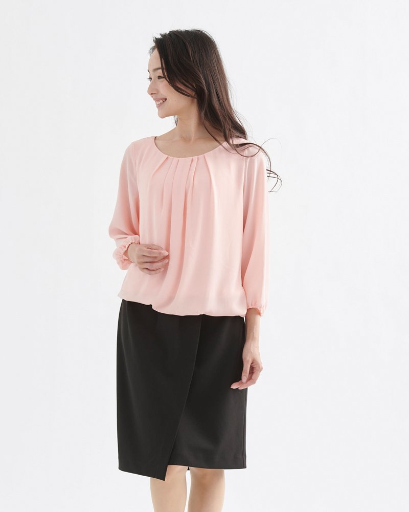 LONG-SLEEVE BLOUSE(長袖ブラウス) image