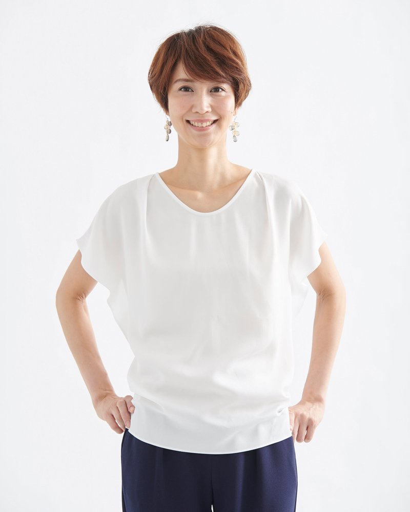 SHORT-SLEEVE BLOUSE(半袖ブラウス) image