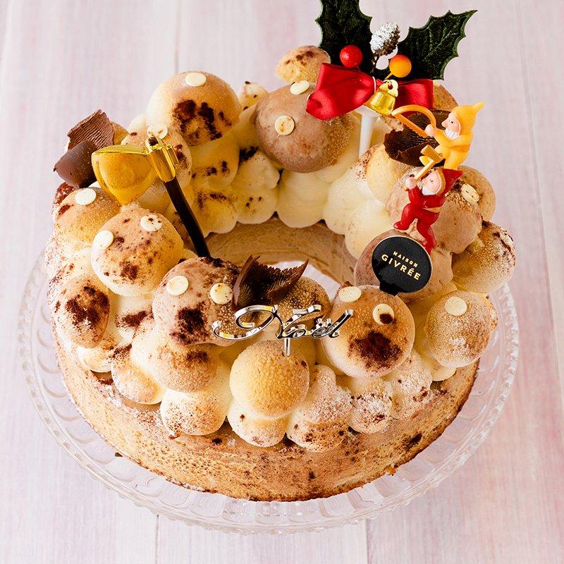 クリスマスリース シャンピニオン カフェファソン(限定50個)(お届けは12月19日〜12月26日)