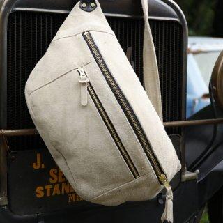 Velor Motorcycle Shoulder Bag