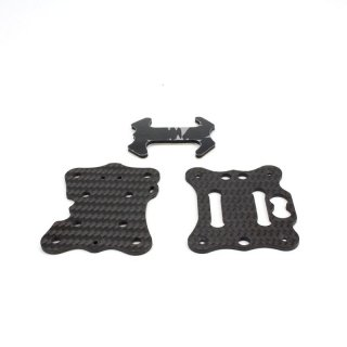 Babyhawk R pro 4 inch middle +bottom boad +battery pad