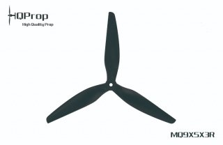 HQ MacroQuad Prop 9X5X3R(CW) Black-Carbon Reinforced Nylon