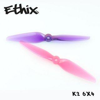 Ethix K2 Bubble Gum (2CW+2CCW)-Poly Carbonate