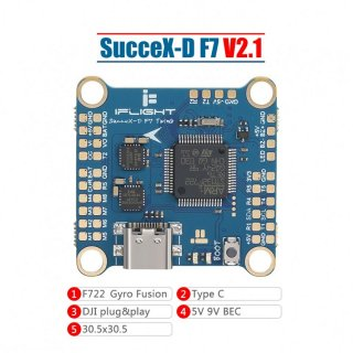 SucceX-D F7 V2.1 TwinG Flight Controller (HD Version)