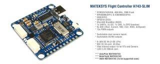 MATEKSYS FLIGHT CONTROLLER H743-SLIM