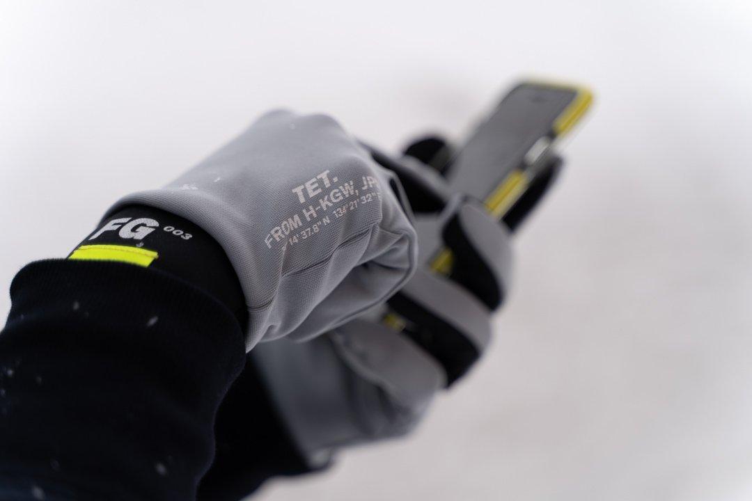 tet.(テト)/ runners gloves