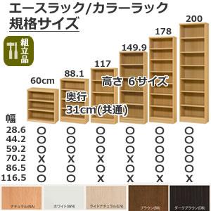 エースラック/カラーラック(規格サイズ)