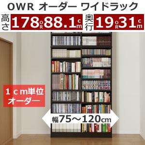 オーダーワイドラックOWR(最大幅120cm/1cm単位指定)