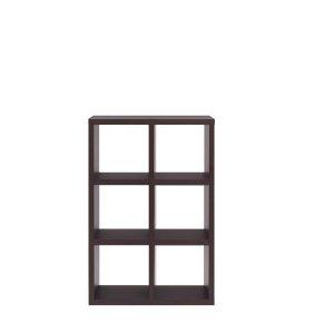 フナモコ縦横自在両面シェルフFREEDOM 3段2列(レベッカオーク 幅77.7奥行29.7高さ114.5 F☆☆☆☆完成品)