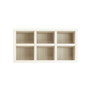 新ラチス フナモコ|デスク上置き(ホワイトウッド 幅89.1x高さ47.6 完成品)