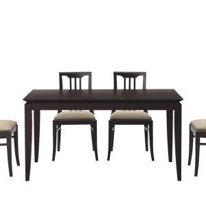 (クラシック)ブナ突板ダイニングテーブル(4人掛/幅135奥行80高さ70cm)
