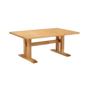 ダイニングテーブル/天然木タモ材(幅135x奥84x高さ69)