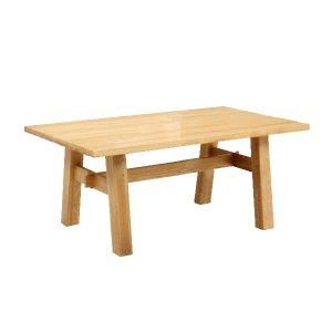 ダイニングテーブル/天然木タモ材(幅150x奥90x高さ69)