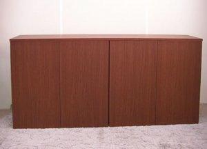 オーダー家具制作事例0359:カウンター下収納キャビネット(幅169x奥34x高さ77.5)