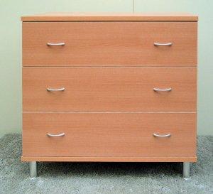 オーダー家具制作事例0194:「リセット」チェスト3段