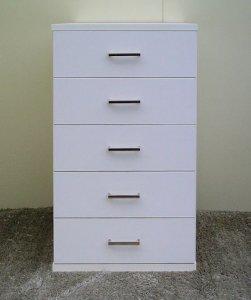 オーダー家具制作事例0215:チェスト「リセット」5段引き出し