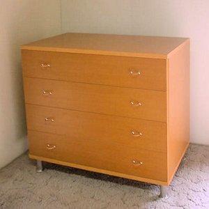 オーダー家具制作事例0290:4段チェスト