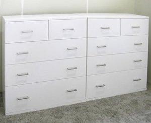 オーダー家具制作事例0390:4段チェスト/4本(幅79x奥44x高さ90ほか)