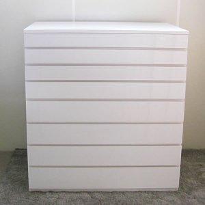 オーダー家具制作事例0510:4段+4段チェスト(幅110x奥60x高116cm)