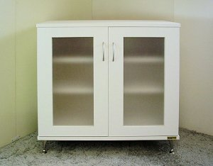 オーダー家具制作事例0132:「リセット」キャビネット ホワイト