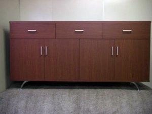 オーダー家具制作事例0295:業務用チェスト 幅180