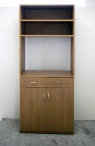 オーダー家具制作事例0316:電話FAX等収納キャビネット