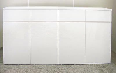 オーダー家具制作事例0429:幅168 キャビネット(幅167.6x奥36x高さ85cm)