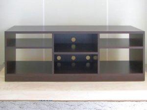 オーダー家具制作事例0353:オープンAVラック(幅154x奥行40)