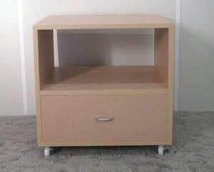 オーダー家具制作事例0365:「リビングラック」2段(幅60x高さ60)