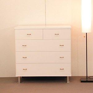 オーダー家具特注製作:チェスト リセット(ホワイト)