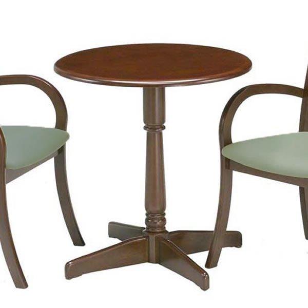 レストテーブル ダーク色(幅65x奥行65x高さ70)