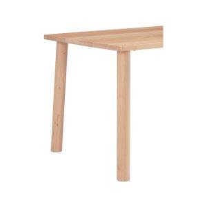 楓の森メープル材 テーブル丸脚/4本組(ナチュラル色 テーブル高72cm)