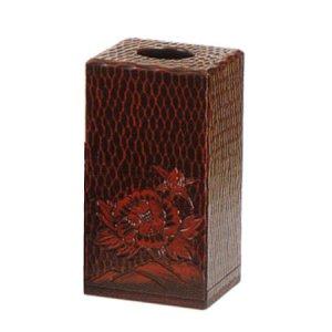 手彫り 屑箱(大)(幅18奥行18高さ34)