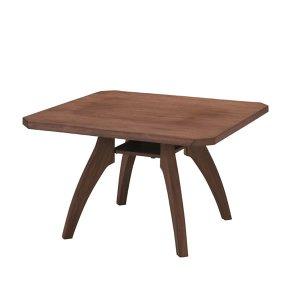 低いダイニングテーブル/雅UNB(浮造り仕上 幅110x奥行110x高さ66)