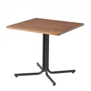 リビングダイニング兼用カフェテーブル(高さ67x幅75x奥行75cm)