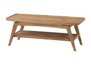 ヴァルト リビングテーブル(天然木アカシア 幅110奥行50高さ40)