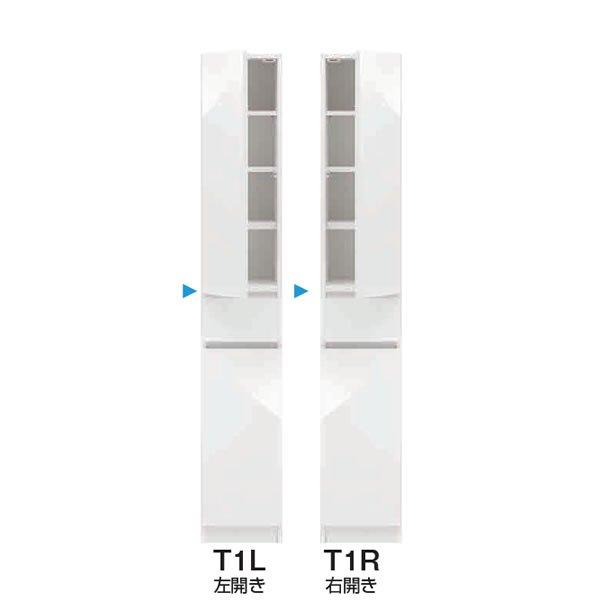スリムすきまくんSSD T1タイプ/板扉キャビネット 幅15-45x奥行42/52x高さ180.2cm