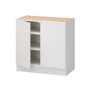 3Dすきまくん 組合せ自由カウンター 下台板扉ユニットT(幅60〜120x高さ70〜100x奥行26〜45cm)