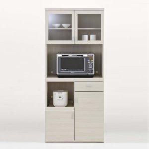フナモコ キッチンレンジボード SKS-81R/スマートキッチンSK(幅79.2x奥行44.5x高さ180cm/ホワイトウッド)