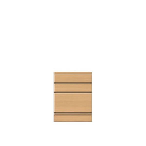 フルチョイス引戸キャビネット シータ /チェスト3段 (オーダー指定:幅30-80x奥行30/35/44x高さ64-80cm)